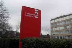 Staffordshire University Courses